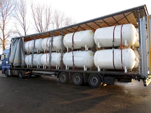 LPG / GAS GASTANK 2.700 LITER